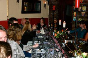 EETdates: singles dineren (Foto: Renate Guitink)