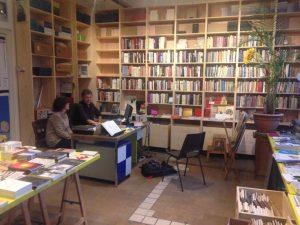 Het experimentele poëziecentrum Perdu. (Foto: Milo van Bokkum)