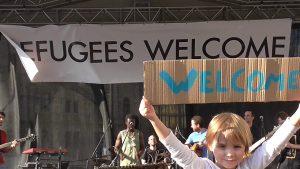 Vluchtelingen welkom