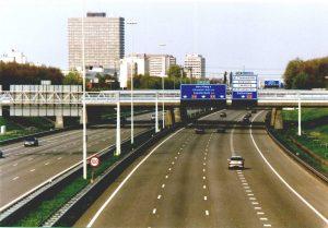 De gemeente dient bezwaar in tegen de snelheidsverhoging op de A2 (Foto: Wikipedia)