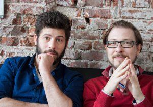 Brian de Hond (l) en Daniel Malkin